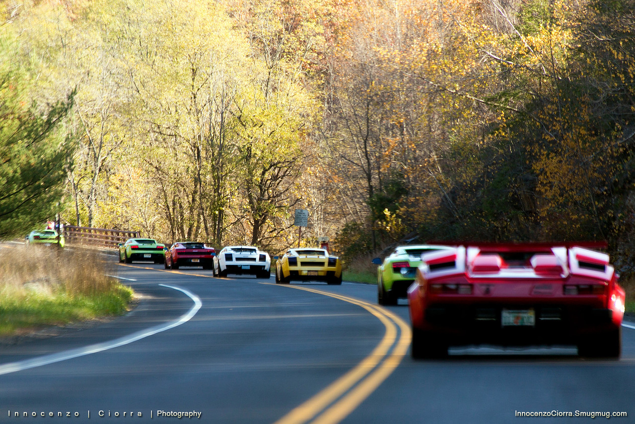 Northeast Largest Gathering of Lamborghini